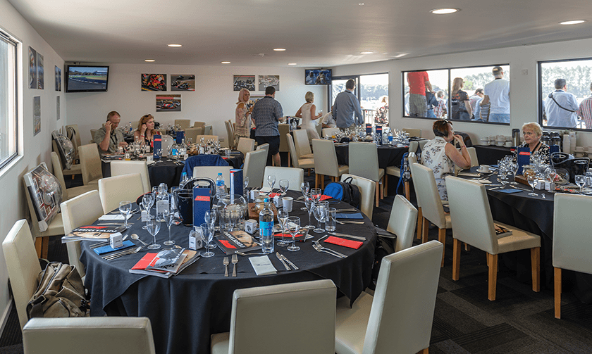 Brooklands Suite set up with guests