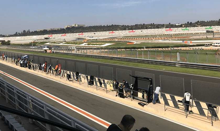 Views over the whole circuit